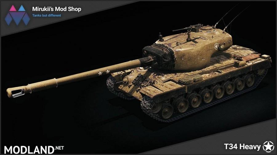 Mirukii's T34 Heavy Remodel [1.5.1.0]